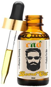 RND Beard Oil Conditioner- All Natural Organic Argan  Jojoba Oils - Promotes Beard Growth - Softens  Strengthens Beard
