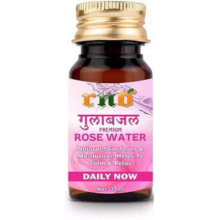 RND ROSE Water (Gulab Jal) For Skin (35ML) - Pure Natural  Undiluted  (35 ml)