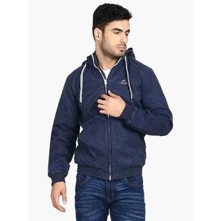 Kotty Men's Blue Casual Jackets