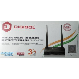 Digisol D GBG4300NU300 MBPS Wireless ADSL2/2+ Broadband Router Routers   Modems