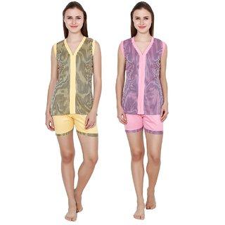 Kismat Fashion Stylish Top & Short Set