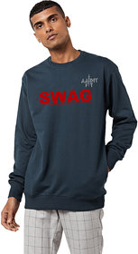 aarmy fit mens round neck sweatshirt