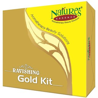 Nature Essence Ravishing Mini Gold Facial Kit, 52g