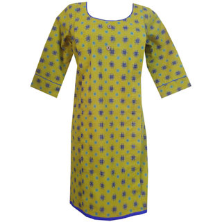 K T COLLECTION COTTON MATERNITY FEEDING KURTI WITH 2 VERTICAL ZIPPERS KTMTRN62