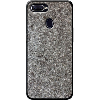45cc1199c3c Buy Cellmate Stylish Texture Pattern Soft Fabric TPU Fashionable Designer  Mobile Back Case Cover For Oppo Realme U1 - Silver Online - Get 75% Off