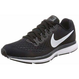 Nike Air Zoom Pegasus 34 Black & White Running Shoes