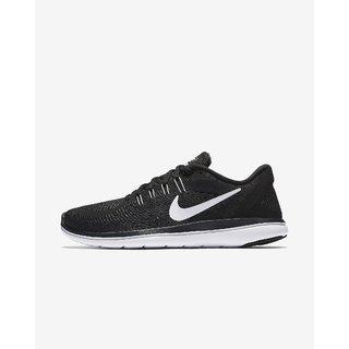 Nike Flex 2017 RN Black & White Running Shoes