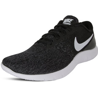 Nike Flex Contact Black & Anthracite Running Shoes