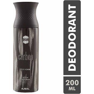 Ajmal Carbon Perfume Deodorant 200ml for men