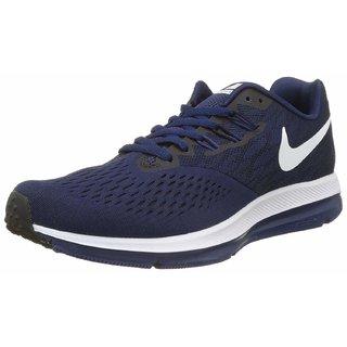 703bbe308be9b Buy Nike Zoom Winflo 4 Binary Blue   Black Running Shoes Online ...