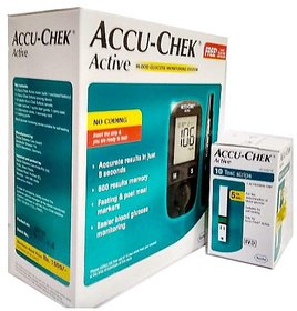 ACCU-CHEK ACTIVE 10 TEST STRIPS WITH THIS PACK