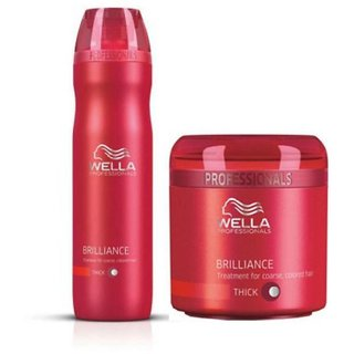 WELLA Brilliance Shampoo Mask Shampoo