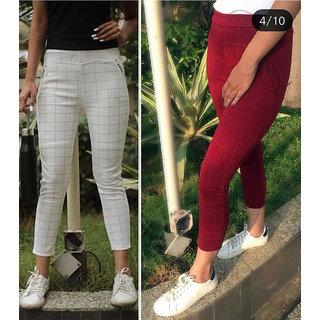 184115d4c5 Buy Trusha Dresses Lycra Tights - Multi Color Online - Get 38% Off