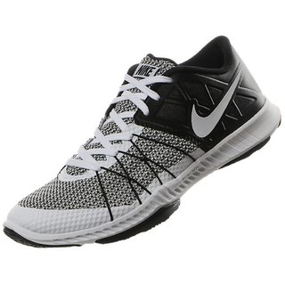 8eb22e2d7567 Buy Nike Zoom Train Incredibly Fast White   Black Training Shoes Online    ₹7495 from ShopClues