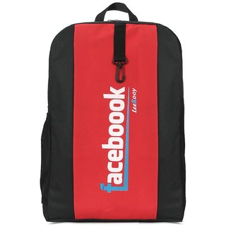 LeeRooy 25 ltr blue canvas collage bag BackPack for boys  girls