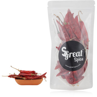 Sgreat Spice Red Long Chilli, 1 Kg