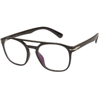 e18e7e4424 LOF Black Hexagon Full Rim Anti-Reflective Coating Spectacle-Frame for Men.  Rs. 259. 74% off