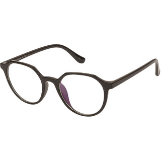 067c579b9e Buy LOF Black Hexagon Full Rim Anti-Reflective Coating Spectacle-Frame for Men  Online - Get 74% Off