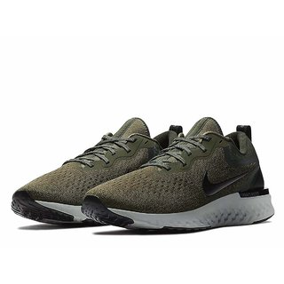 Nike Odyssey React Olive Running Shoes