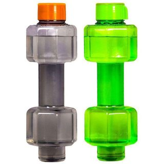 SKYHEART-Multicolour 750 ml PET Water Bottle Set of 2