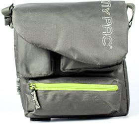 My Pac Vivaa Polyester messenger waterproof Sling bag grey C11544-26