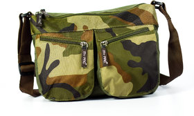 My Pac Vivaa Polyester Sling Bag Military Khaki C11543-22