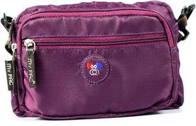 My Pac Vivaa Polyester Sling Bag Purple C11542-71