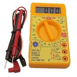 EC Meter Digital Multi-meter Voltage Amp Current Resistance Meter