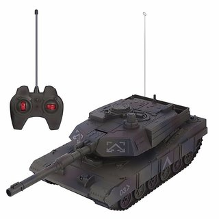 RC Military Tank Turret Rotation Remote Control Model Long Distance Control Kids Boy Toys Gift