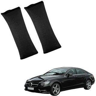 Auto Addict Car Seat Belt Cushion Pillow ( Black) -2 Pieces For Mercedes Benz CLS-Class