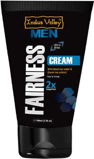 Indus Valley Men Fairness Cream For Natural Fair Look (100ml)