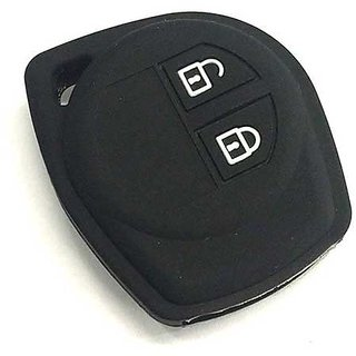 Silicone Key Cover for Maruti Swift 2014 Onwards (2 BUTTON REMOTE KEY)