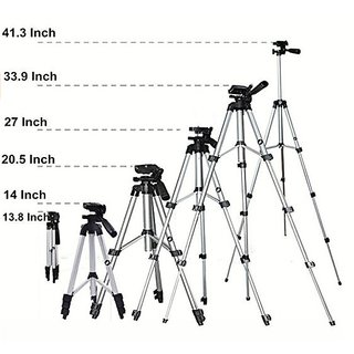 Perfect Nova (DeviceOfMan) Tripod-3110 Portable Adjustable Lightweight CameraStand mobile Tripod (Supports Up to 3000)