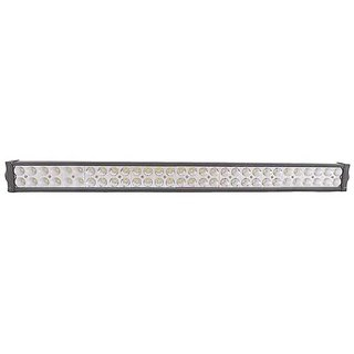 32 Inch Double Row Waterproof LED Flood Bar Fog Light with Mounting Brackets (180W)