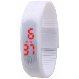 FARP Digital led watch white colour for mens watch womens watch boys watch girls watch