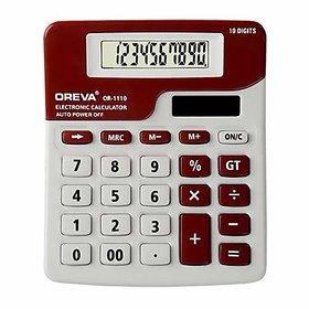 Oreva 10 digit solar  battery calculator OR-1110