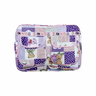 Krishnam New Born Baby Multypurpose Mother Bag With Holder Diapper Changing Multi Comprtment For Baby Care And Maternity