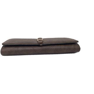 Rish zipper wallet for women - Black