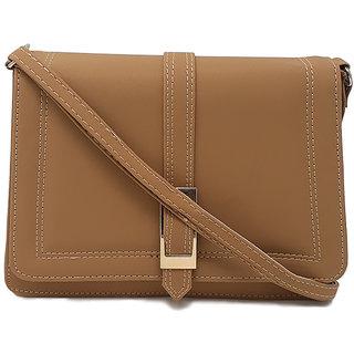 RISH Sling Bag for Women - Brown