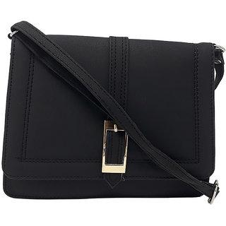 RISH Sling Bag for Women - Black