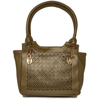 RISH Festive Handbag - Glossy Tan