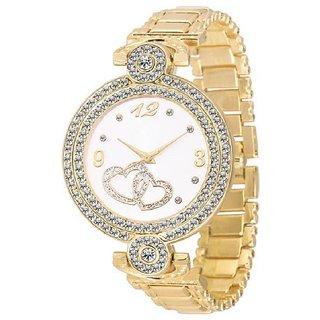 idivas 2 Fashion Italian Golden Design Women Analog watch for Girls and Ladies Watch - For Women