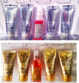 New Sahnaza Hussain Gold Diamond  facial kit (set of 5) 55gm combo