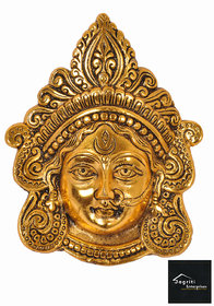 Durga Maa Face Wall Hanging Decorative Showpiece