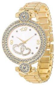 IDIVAS 107 Fashion Italian Golden Design Women Analog watch for Girls and Ladies Watch - For Women