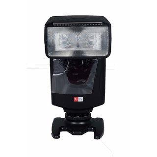 Tyfy DF-700 Camera Flash for Canon Nikon with Single-Contact Hotshoe (Black)