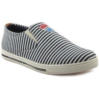 Fm Shoes Men Sneakers blue Stripped shoes