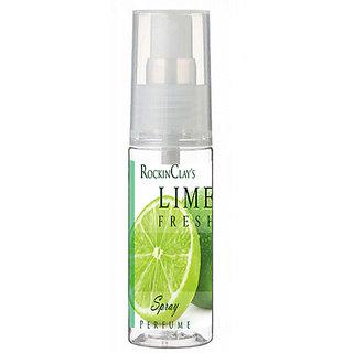 RockinClay's Lime Fresh 100ml Spray  Perfume