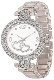 idivas 4 Fashion Italian Silver Design Women Analog watch for Girls and Ladies Watch - For Women