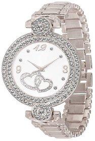 idivas 107 Fashion Italian Silver Design Women Analog watch for Girls and Ladies Watch - For Women